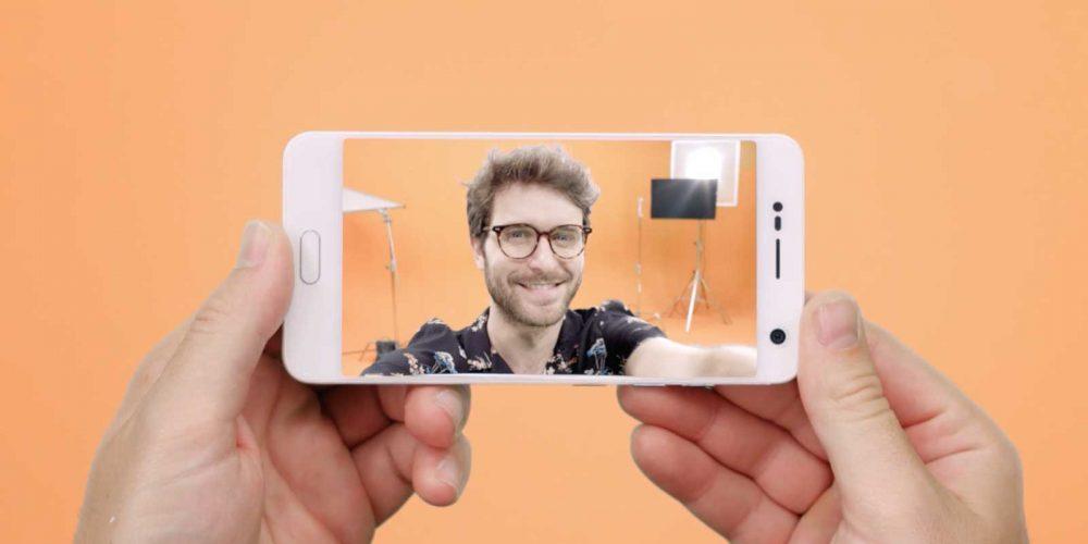 selfie angular zte